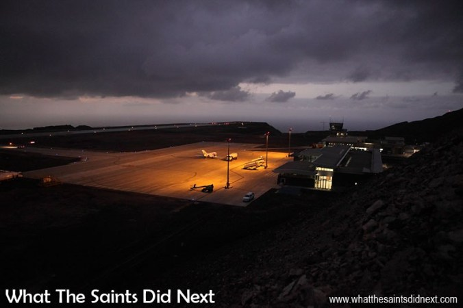 First Medevac Flight Lands on St Helena - What The Saints Did Ne